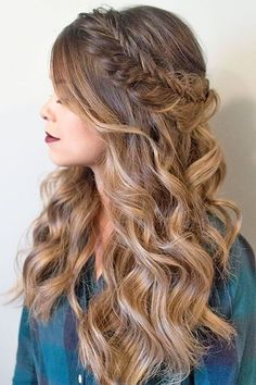 18 Modish Ombre Wedding Hairstyles ❤ Ombre wedding hairstyles are on trend this year. Here are sizzling solutions for black, brown and blond hair. Technique looks good on long and short hair. See more: http://www.weddingforward.com/ombre-wedding-hairstyles/ #weddings #hairstyles