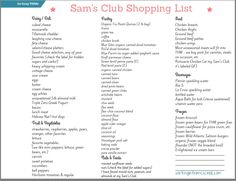 Thm Walmart List  Thm    Recipes