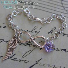 Infinity enkelisiivellä ja kristallilla