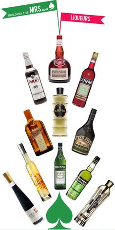 Mrs. Lilien Styling House Blog - Building The Mrs. Bar :Liqueurs
