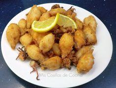 Una receta sencilla y deliciosa!! Ingredientes: Chipirones Harina especial para rebozar pescado Sal Aceite parafreír. Si no tenemos harina para pescado, podemos utilizar una mezcla de harina normal y harina…