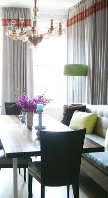 Nice details with the stripes in a complementary color scheme.