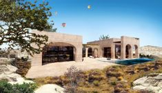 Cappadocia Hotel by Global Architectural Development (GAD) Parametric Architecture, Classical Architecture, Ecology Design, Underground Cities, Walking Paths, Extended Stay, Cappadocia, Design Strategy, Istanbul
