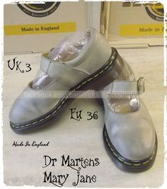 eb47067b3d1 Dr. Martens Martens Mary Jane Pointure 36 uk3 Vintage Made in England !!  couture