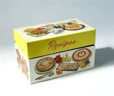 Vintage Recipe Box - Bing Images