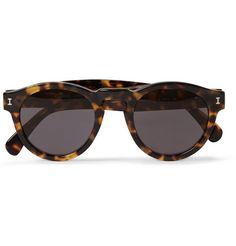 Leonard Round-Frame Acetate Sunglasses Illesteva $177 @Mr. Porter