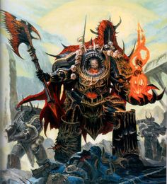 "40kartwork: ""Art from the Chaos Space Marine Codex """