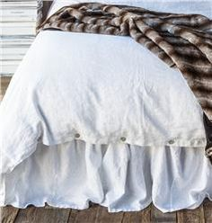 Buy Linen Dust Ruffle online with free shipping from thegardengates.com