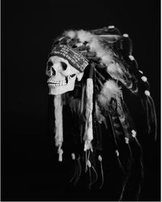 Indian skull ..... so cool! What is it about death that we find so intriguing? Max Snow's new exhibition ruminates over this question, with stark black and white images that are simultaneously beautiful and disturbing. From a nude woman holding a beer and smoking a cigarette while laying in a coffin, to a burning Swastika, Snow's photographs confront taboo subjects that are at once mortal and mystical. Each photograp...