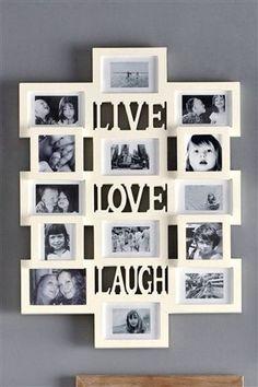 Live Love Laugh Collage Frame Next