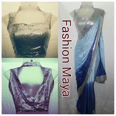 We even customize the blouse and saree designs as per the customer's preference. All you need is to explain us your requirement and you'll get exactly what you had expected