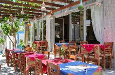 Traditional taverna in the hotel