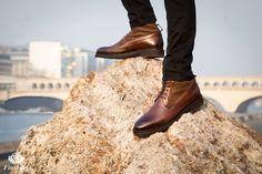 Boots Yukon Marron pour Homme - Finsbury Shoes