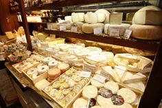 Cheese. Some of the best places in Paris