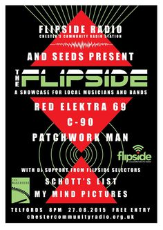 Flipside Event coming up at Telford's.