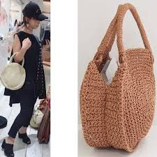 Fabulous Crochet Ideas With Knitting Patterns - Home Ideas Crochet Handbags, Crochet Purses, Knitting Patterns, Crochet Patterns, Yarn Bag, Diy Handbag, Round Bag, Cute Bags, Knitted Bags