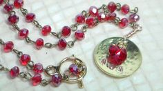 Pandahall Spring Beading Contest: Domed & Stamped Necklace for Mom