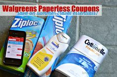 Clip Coupons and Save on Summer Travel Essentials #WalgreensPaperless #Shop