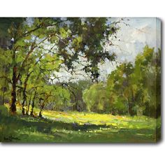 The Beautiful Countryside' Oil on Canvas Art