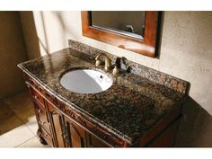 Pic Of Small Bathroom Vanity With Granite Top