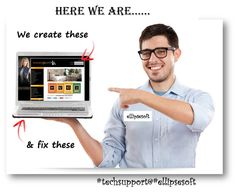 {#EllipsesoftTechSupport} #Website_Support Comprehensive #techsupport for #Webdesigns Call Toll Free:1-888-333-9003 www.ellipsesoft.com