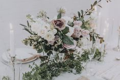 Image 23 - Blushing Bride + a Floral Dream – Romantic Bridal Inspiration in Styled Shoots.