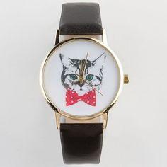 Cat Dial Watch