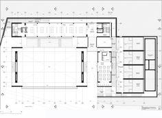 Universidad de los Andes Sport Facilities,second level plan