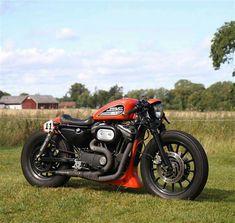 Cafe racer....Harley Davidson #harleydavidsoncaferacer