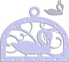 Silhouette Design Store - View Design #15145: seven swans swimming