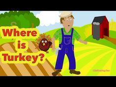 Thanksgiving Songs for Children - Ten Little Turkeys - Kids Song by The Learning Station - YouTube