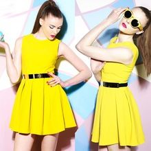 high quality custom made fashion cotton knit pleat lady dress Best Seller follow this link http://shopingayo.space