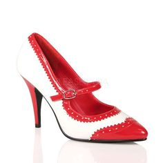 Red Shoes 2 Inch Heel | Tsaa Heel