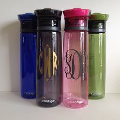 Personalized Contigo AUTOSEAL Madison Water Bottle by MerakiDesignsandCo on Etsy