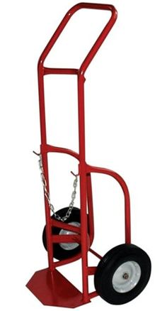 Milwaukee Hand Trucks 40763 Delivery Cylinder Truck 1 Gas Cylinder, 500 LB Load Rating
