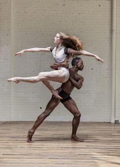 Dancers Taryn Mejia and Joshua Bodden