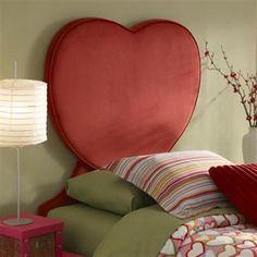 Heart Twin Size Headboard PWL-198-039