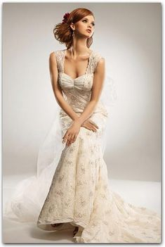 Champagne Wedding Dresses On Pinterest Champagne Wedding
