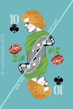 10 of Clubs - Loras Tyrell Game Of Thrones Cards, Got Game Of Thrones, Hbo Tv Series, Movies And Series, Carte Got, Game Of Throne Actors, Game Of Thones, Playing Card Games, Cersei Lannister