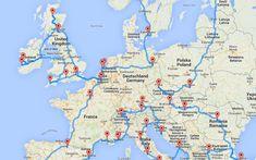 Armé d'un algorithme et d'une liste de cinquante lieux incontournables en Europe, Randal Olson, blogueur et analyste de données, propose son parcours optimal sur le Vieux Continent.