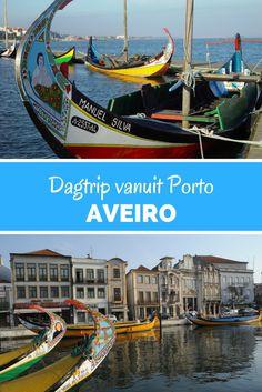 Aveiro, Portugal. Maak je binnenkort een stedentrip Porto en wil je een mooie dagtrip maken? Wat dacht je van het kleurrijke Aveiro!