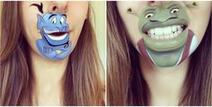 Makeup artist turned her mouth into those of famous cartoon characters » Lost At E Minor: For creative people