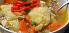 10 laktató téli leves: Imádni fogod őket - Receptneked.hu - Kipróbált receptek képekkel Okra, Thai Red Curry, Risotto, Ethnic Recipes, Soups, Gumbo, Soup