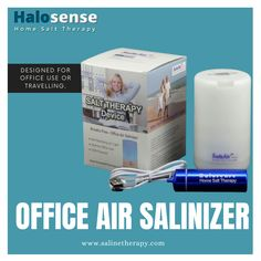 Our Mini Office Salinizer nicely blends salt therapy and aroma therapy The highly in-demand product creates breathable, hygienic air in your office space Breathe fresher, breathe healthier!! #saltairdevice #saltairuvmini #officeairsalinizer #salttherapy #asthma #breathingdisorder #COPD #Salinetherapy Mini Office, Aroma Therapy, Futuristic Technology, Asthma, Disorders, Breathe, Salt, Personal Care, Self Care