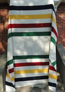 - Homage to a Canadian/British Classic. The Hudson Bay quilt