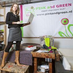 Martha = miss Pink and Green www.pinkandgreen.nl