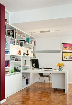 interiores home office decoracao