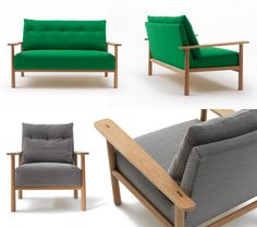Archie Sofa and Chair from Jardan