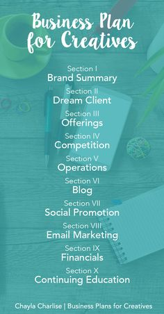 Business-Plan-for-Creatives Found @chaylacharlise http://www.top-sales-results.com/