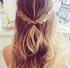 pull back braid